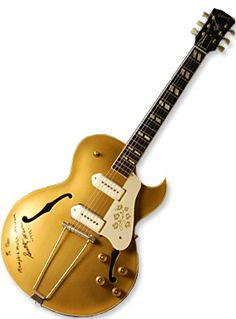 Scotty Moore's '52 Gibson ES 295 guitar