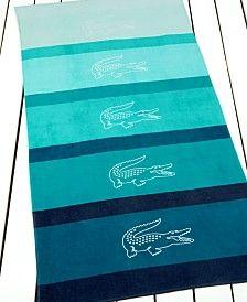 9036a371a2 Lacoste Scuba Serviette de plage | bedding set | Beach towel, Beach et Bath  towels