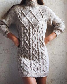 Loom Knitting Stitches, Sweater Knitting Patterns, Knit Patterns, Baby Knitting, Hand Knitted Sweaters, Knitted Hats, Girls Sweaters, Sweaters For Women, Knit Baby Dress
