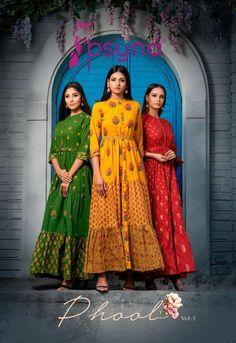 Price Per Piece :- ₹850 Minimum Order :- 7 Pcs Full Set Price :- *₹5,950 + ₹298 (GST 5%)* *Fabric Description* 👗Top :- Cotton Cambric Size :- M(38), L(40), XL(42), XXL(44) Fancy Gowns, Kurti Collection, Kurti Designs Party Wear, Color Combinations, Catalog, Cotton Fabric, Sari, How To Wear, Beautiful