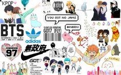 kpop desktop wallpaper. bts. got7.