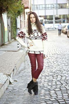 The Garage Starlets Katia Peneva Isabel Marant HM 02 10 Magnifiques looks de Blogueuses mode habillées en Isabel Marant pour H&M