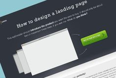 A landing page design – Example & free PSD Landing Page Design, Psd Templates, Web Design, Photoshop, Cards Against Humanity, Free, Design Web, Website Designs, Site Design