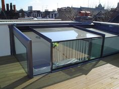 Sliding Box Roofligh Excellent To Convert Roof Terraces
