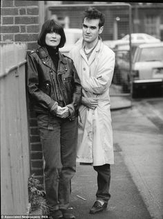 Sandie Shaw and Morrisey......;)