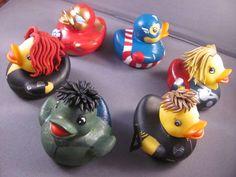 Duckvengers by Loki #Avengers #RubberDuck #Christmas