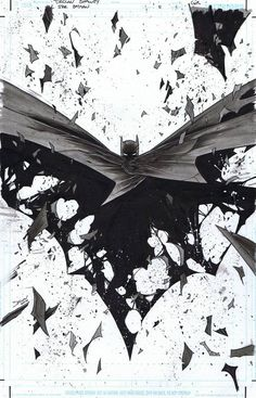 All-Star Batman (DC Comics), Issue 05, Page Variant Cover - W.B.