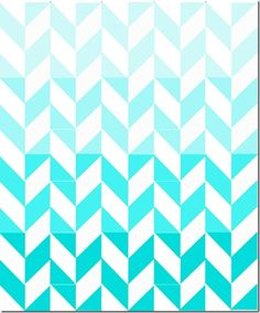 Ombre Herringbone Quilt by sewdangcutecrafts Hand Quilting Patterns, Free Motion Quilting, Quilting Projects, Quilting Designs, Sewing Projects, Quilt Design, Quilting Tips, Girls Quilts, Baby Quilts