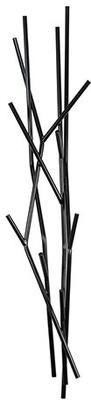 Covo Small Contemporary Coat Stand - Black Steel by Viva Lagoon