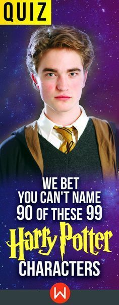 HP Quiz: Can you name EVERY Harry Potter character? Test yourself! Cho Chang, Cedrig Diggory, Hogwarts bound, Wizarding world quiz, HP test, buzzfeed quizzes, playbuzz quiz, Harry Potter knowledge test. Wingardium Leviosa!