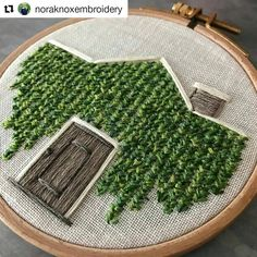 by @noraknoxembroidery ♥♥