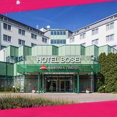 Teambuilding beim Austria Trend Hotel Bosei im Süden von Wien. Das im Süden Wiens gelegene Austria Trend Hotel Bosei Wien befindet sich direkt neben dem Erholungsgebiet Wienerberg, die 187 neuen, komplettrenovierten Zimmer bestechen mit Aussicht auf den Golfplatz Wienerberg und die Skyline des Wiener Businessparks.