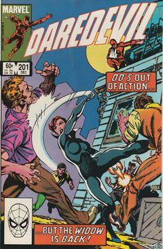 Daredevil Vol. 1 No. 201 1983 by TheSamAntics on Etsy