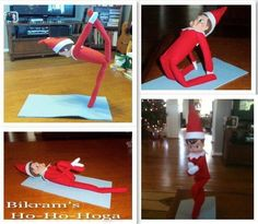 Elf on the Mat - Bikram Yoga