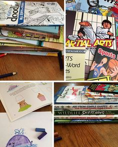 Coloring books, mazes, piles of crayons and markers just say summer to me! This is a collection of both Summer Olympics/sports themed books and fine arts and how-to-sketch books🎨 Looking for frugal resources to keep the creative juices and learning flowing these next months? Get 25% off these high quality @doverpublications with code WHBA through 6/30/16 http://bit.ly/1sQg5LC or at the link in profile 📚 #homeschool #Sponsor