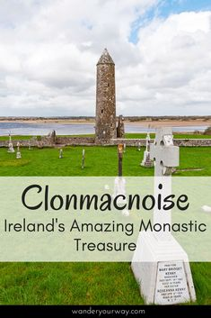 So often folks who travel to Ireland neglect the interior of the country. But this where you find some special sites. Clonmacnoise — an early Christian site — is one of these treasures. Click through to find out more.