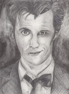 Here is a mash up drawing I did of the 10th and 11th Doctor from Doctor Who. I'm so in love with this picture I just might put it in a frame! :D