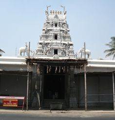 Echanari Temple,Coimbatore Front view.One of the biggest Vinayagar temple in India