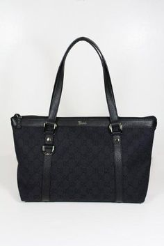 Gucci Handbags Black Fabric And Leather   $675.00  www.your-online-fashion.com