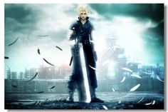 View an image titled 'Zack Promotional Art' in our Crisis Core: Final Fantasy VII art gallery featuring official character designs, concept art, and promo pictures. Final Fantasy Vii Remake, Final Fantasy Cloud, Final Fantasy Wallpaper Hd, Fantasy Series, Fantasy Art, Anime Fantasy, The Witcher 2, Wallpaper 1920x1200, Cloud Wallpaper