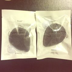 Set of 2 Julep Charcoal Konjac Sponge Set of 2, brand new, sealed. This super gentle all-natural exfoliator is enriched with skin-clarifying charcoal to cleanse, exfoliate + detoxify your skin.  Features & Benefits: • Enriched w/skin-clarifying charcoal • 100% biodegradable + compostable • All skin types  To use: Rinse under warm water before use. Massage your face in a circular motion to exfoliate dead skin cells. Rinse thoroughly, squeeze out excess water after each use. Replace every 1-2…