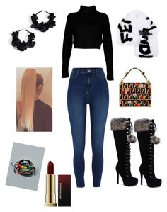 Designer Clothes, Shoes & Bags for Women Kevyn Aucoin, River Island, Boohoo, Fendi, Shoe Bag, Sexy, Polyvore, Stuff To Buy, Shopping