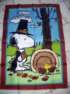 Wonderful PEANUTS SNOOPY WOODSTOCK HAPPY HALLOWEEN APPLIQUE GARDEN FLAG 12X18 NEW IN  PKG Picclick.com | FALL/Halloween/Thanksgiving | Pinterest | Halloween  Applique, ...