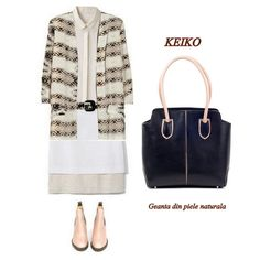 Geanta dama piele naturala KEIKO Tote Bag, Polyvore, Bags, Fashion, Handbags, Moda, Fashion Styles, Totes, Fashion Illustrations