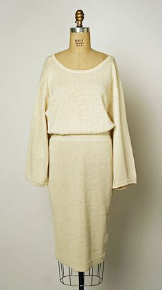 Dress early 1980s Azzedine Alaia