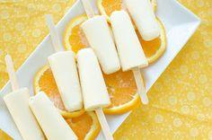 Orange Creamsicle recipe - OJ, heavy cream or coconut milk, honey, orange extract, vanilla extract
