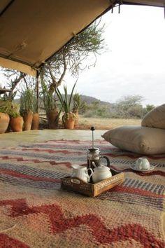 Loisaba Bush Camp - Loisaba Wilderness Reserve, Kenya