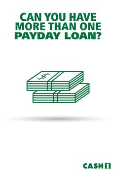 Can you have two payday loans at once? Yes, in some states you can, but you should borrow responsibly and consider if you can afford to pay the loans back. Installment Loans, Payday Loans, Dollar Loan, 100 Dollar, The Borrowers, How To Apply, Canning, How To Plan, Home Canning