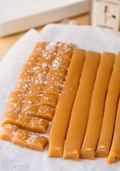 A Spicy Perspective Bourbon Salted Caramel Candy Recipe - A Spicy Perspective