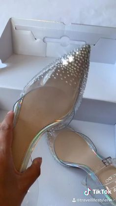 Wedding Flip Flops, Wedding Heels, Glass Slipper Cinderella, Disney Heels, Aldo Shoes, Shoes Heels, Cinderella Wedding Shoes, Sneakers Fashion, Fashion Shoes