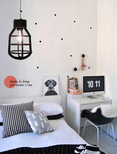 The charm of polka dots. #decor #interior #design #charm #details #casadevalentina