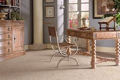 Sticks and Stones style carpet in Balsa color, available wide, constructed with Mohawk SmartStrand carpet fiber. Mohawk Flooring, Brick Flooring, Floors, Eco Friendly Flooring, Hardwood Tile, Carpet Installation, Flooring Options, Living Room Carpet, Modern House Design