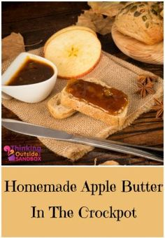 Try this tasty fall treat. Homemade Apple Butter in a crockpot.