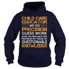 Awesome Tee For Child Care Educator - #pink sweatshirt #full zip hoodie. PURCHASE NOW => https://www.sunfrog.com/LifeStyle/Awesome-Tee-For-Child-Care-Educator-93071257-Navy-Blue-Hoodie.html?60505