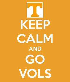 This is an oxymoron of sorts...It is impossible to keep calm and be a VOL fan!  :D