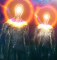 Were the Elohim or Shining Ones the Creators of Mankind? Aliens And Ufos, Ancient Aliens, Arte Steampunk, Alien Concept Art, Alien Art, Visionary Art, Sacred Art, Psychedelic Art, Sci Fi Art