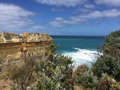 I'm so glad I decided to do this drive (well ride. I'm not driving)! It turned out to be a beautiful surprise!  #GreatOceanRoad #LochArdGorge #TheRazorback #nofilter #Victoria #Australia #go #eatgolearnlive by eat.go.learn.live