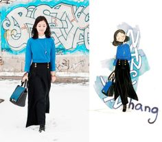 Fashion Illustrator Nancy Zhang