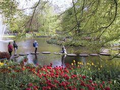 Keukenhof Gardens In The Netherlands Spring Flowers