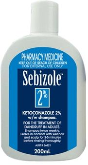sebizole 2% ketoconazole shampoo