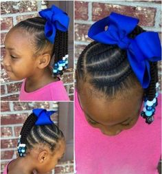 Top Braids with Beads Hairstyles for Adorable Toddlers New Natural Hairstyles Cute Little Girl Hairstyles, Little Girl Braids, Girls Natural Hairstyles, Baby Girl Hairstyles, Kids Braided Hairstyles, Braids For Kids, Girls Braids, Kids Braids With Beads, Fun Hairstyles
