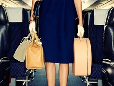 """Here's What to Pack Every Time You Fly: On the count of three, say """"jet set."""" via @domainehome"""