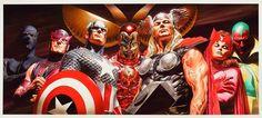 Grandes mestres dos quadrinhos: Alex Ross | SuperVault
