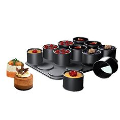 Ring molds for individual desserts