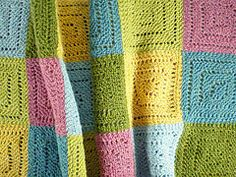 Ravelry: Syrian Squares pattern by Frankie Brown