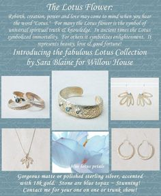 I would really like every piece of this collection! Remember, because I Rep the Designer, I can get you Fabulous deals. Message me Your wish list and I can beat the retail price for multiple pieces! www.staceyeverett.jewelry.willowhouse.com